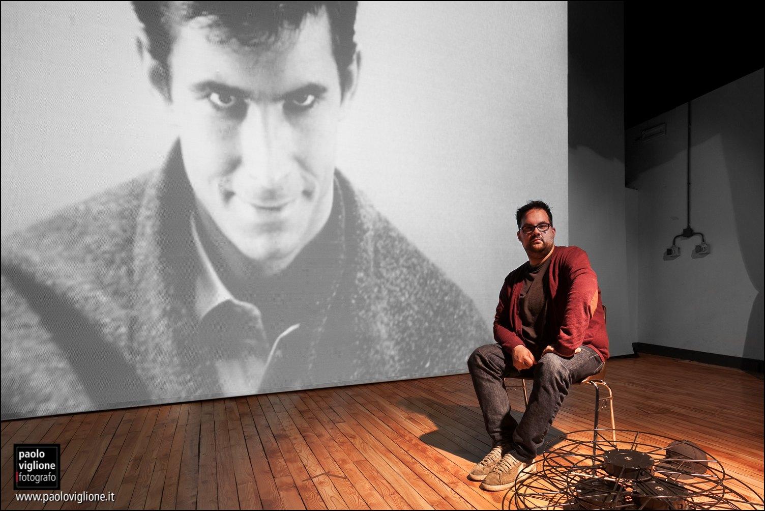 Amedeo Cilenti, gestore cinema Iris, Dronero