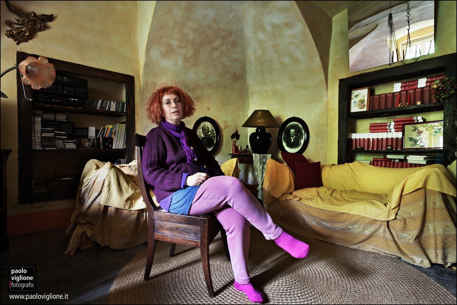 Tiziana Sola, insegnante, Ricogno