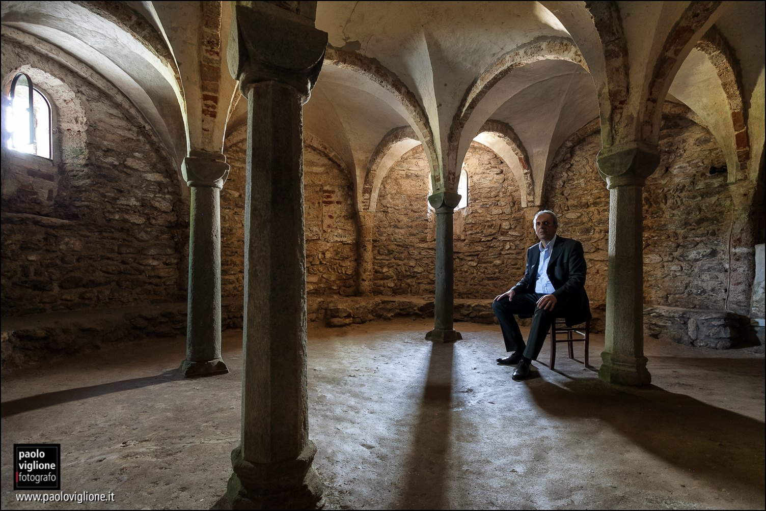 Giuseppe Bottero, guida turistica, Villan San Costanzo