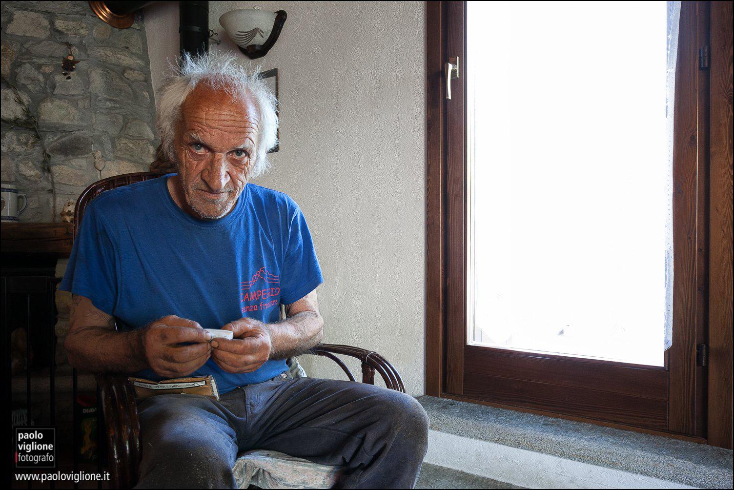 Eugenio Girardi, Frazione Villaro, Acceglio
