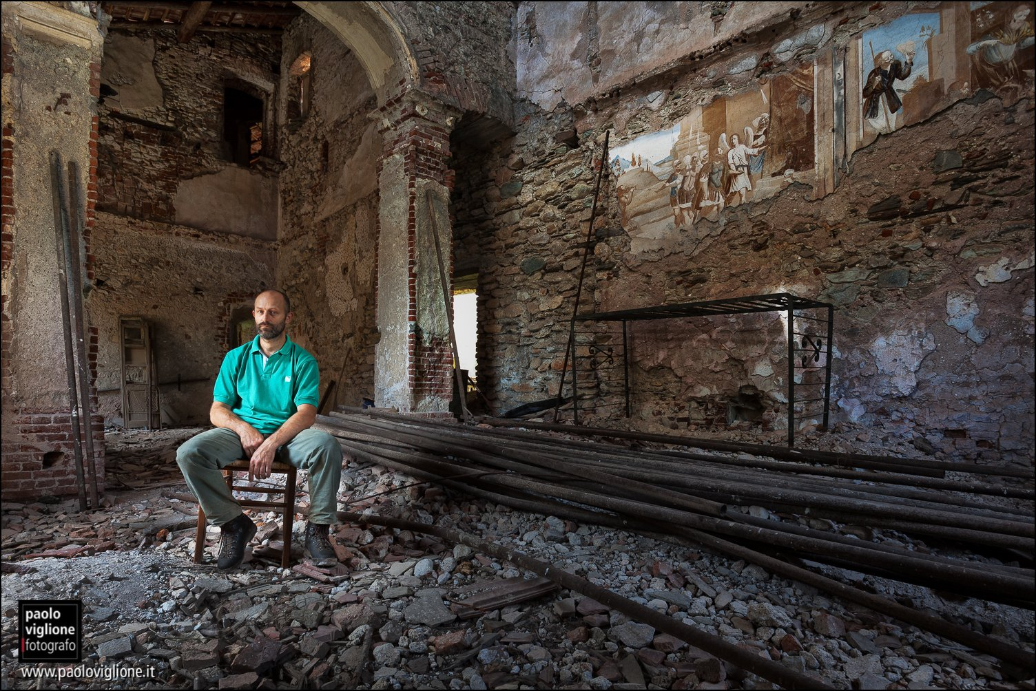 Guido Olivero, proprietario del castello di Cartignano, Cartignano